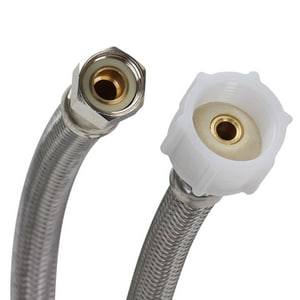 Fluidmaster Pro Series® 3/8 in x 7/8 in. x 16 in. Braided Stainless Toilet Flexible Water Connector FPRO1T16