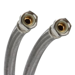 Fluidmaster Pro Series® 3/8 x 12 in. Braided Stainless Sink Flexible Water Connector FPRO6F12