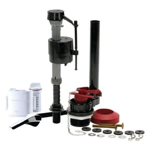 Fluidmaster Complete Toilet Repair Kit in Black F400AFS