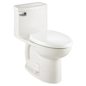 American Standard FloWise® 1.28 gpf Elongated One Piece Toilet in White A2403128020