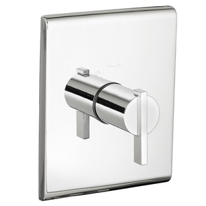American Standard Times Square® Central Thermostatic Trim Kit with Single Lever Handle in Polished Chrome AT184730002