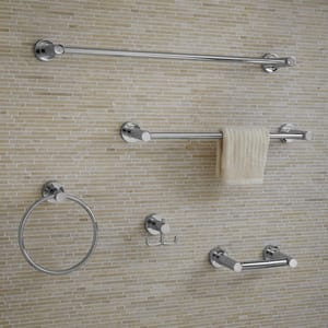 American Standard CS Series 18 in. Towel Bar in Polished Chrome A8336018002