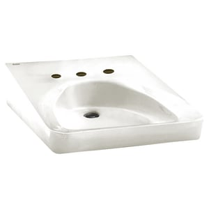 American Standard Wheelchair Wall Mount Bathroom Sink in White A9140013020