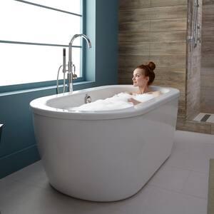 American Standard Cadet® 64-5/8 x 30-5/8 in. Freestanding Bathtub in Arctic White A2764014011