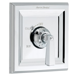 American Standard Town Square® 2-Hole Pressure Balancing Mixing Valve Trim with Single Lever Handle AT555500