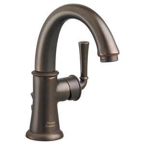 American Standard Portsmouth® Single Handle Monoblock Bathroom Sink Faucet in Oil Rubbed Bronze A7420101224