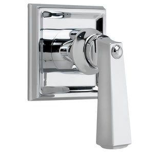 American Standard Town Square® Single Handle Bathtub & Shower Faucet in Polished Chrome Trim Only AT555430