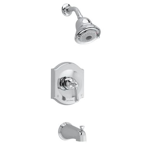 American Standard Portsmouth® 2 gpm Pressure Balancing Shower Valve Trim Kit with Single Lever Handle AT415502