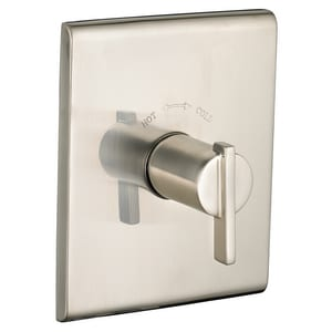 American Standard Times Square® Central Thermostatic Trim Kit with Single Lever Handle in Satin Nickel - PVD AT184730295