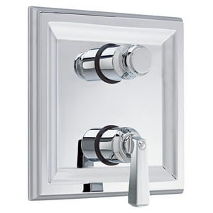 American Standard Town Square® Two Handle Bathtub & Shower Faucet in Polished Chrome Trim Only AT555740