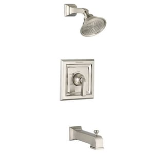 American Standard Town Square® Single Handle Single Function Bathtub & Shower Faucet in Brushed Nickel Trim Only AT555502295