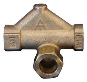 Weil Mclain Valve Filler for Weil Mclain CG Boilers, CGx Boilers, GV Boilers, HE Boilers, HE II Boilers and VHE Boilers W511210434