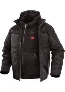 Milwaukee M12™ L Size 3-in-1 Heated Jacket in Black M251B20L