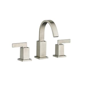American Standard Times Square® Two Handle Widespread Bathroom Sink Faucet in Brushed Nickel A7184801295