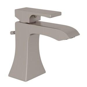 ROHL® Matheson™ Single Handle Monoblock Bathroom Sink Faucet in Satin Nickel RML2001LMSTN2