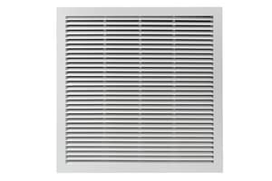 PROSELECT® 24 x 24 in. White Aluminum T Bar Horizontal Blade Return Grill PSAH45TB