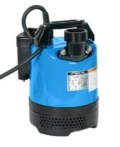 Tsurumi Pump LB Series 2/3 hp 110V 2 in. Dewatering Pump with Level Sensor TLB480A62