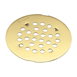 Moen 4-1/4 in. Snap-In Shower Strainer Polished Brass M101663P