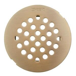 Moen 4-1/4 in. Snap-In Shower Strainer Brushed Nickel M101663BN