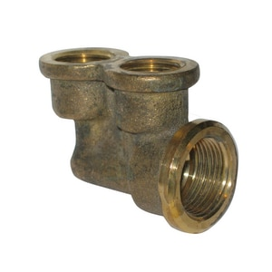 Moen Twin Elbow Shower Brass M128284