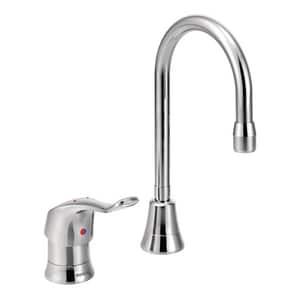 Moen M-Dura™ Single Lever Handle Bar Faucet in Chrome M8137