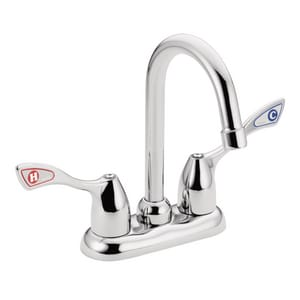 Moen M-BITION Two Wristblade Handle Bar Faucet in Chrome M8948