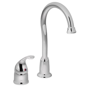 Moen Camerist™ Single Lever Handle Bar Faucet in Polished Chrome M4905