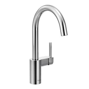 Moen Align™ 1.5 gpm 1 Hole Deck Mount Kitchen Faucet with Single Lever Handle M7365