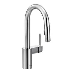 Moen Align™ Single Lever Handle Bar Faucet in Polished Chrome M5965