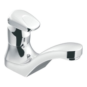 Moen M-Press Single Handle Metering Bathroom Sink Faucet in Polished Chrome M8884