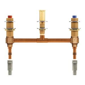 Moen 1/2 in. PEX Deck Mount Roman Tub Faucet Valve MOE4798