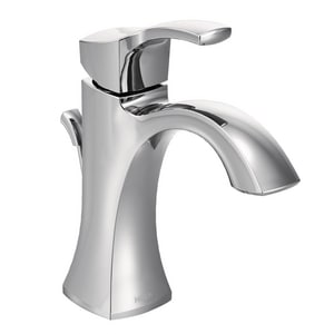 Moen Voss™ Single Handle Monoblock Bathroom Sink Faucet in Polished Chrome M6903