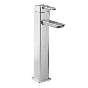 Moen 90 Degree™ Single Handle Centerset Bathroom Sink Faucet in Polished Chrome MS6711