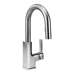 Moen STo Single Handle Lever Handle Bar Faucet MS62308