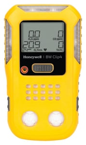 BW Technologies 4-7/10 x 2-7/10 x 1-3/10 in. -20 to 50 Degree C (-4 to 131 Degree F) Gas Detector HBWC4YN