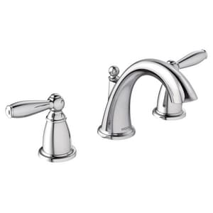 Moen Brantford™ Two Handle Widespread Bathroom Sink Faucet in Polished Chrome MT6620