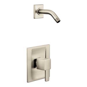 Moen 90 Degree™ Single Handle Shower Faucet in Brushed Nickel MTS2712NHBN