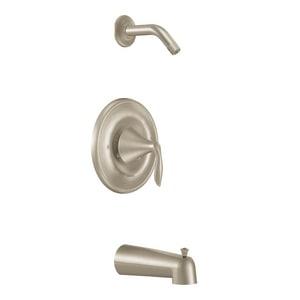 Moen Eva™ Single Lever Handle Pressure Balancing Tub and Shower Trim (Less Showerhead) MT2133NH