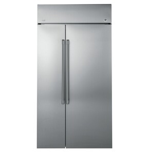 GE Appliances Cafe™ Series 48 in. 29.6 cf Built-in Refrigerator in Stainless Steel GCSB48WSKSS