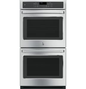 General Electric Appliances Cafe™ Built-In Double Convection Wall Oven in Stainless Steel GCK7500SHSS