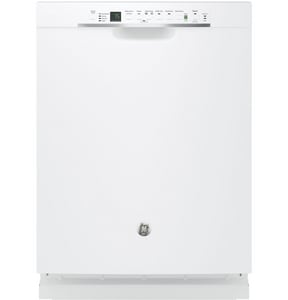 GE Appliances Interior Dishwasher with Front Control in White GGDF650SGJWW