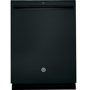 General Electric Appliances Profile™ 45dB Interior Dishwasher with Hidden Control in Black GPDT825SGJBB