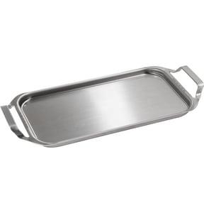 GE Appliances Clad Aluminum Griddle in Stainless Steel GJXGRIDL1