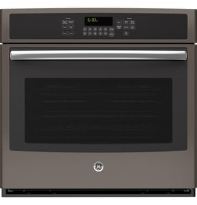 General Electric Appliances 29-3/4 in. Built-In Single Convection Wall Oven in Slate GJT5000EJES
