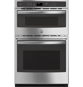 General Electric Appliances Profile™ 26-7/8 in. Combination Microwave Wall Oven in Stainless Steel GPK7800SKSS