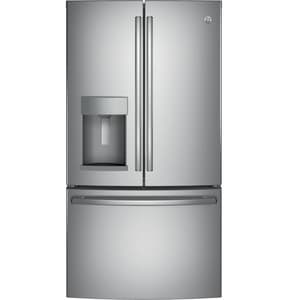 General Electric Appliances 22.2 cf French Door Refrigerator in Stainless Steel GGYE22HSKSS