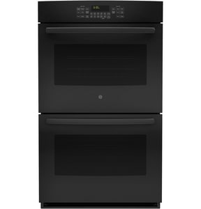 General Electric Appliances 29-3/4 in. 2850W Double Electric Convertible Wall with Convection Oven in Black GJT5500DFBB