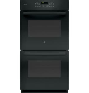 General Electric Appliances Profile™ 26-3/4 in. 7.2kW Double Electric Convertible Wall Oven in Black GPK7500DFBB