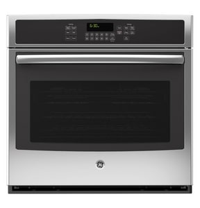 General Electric Appliances 30 in. 5 cf Single Electric Convertible Wall Oven in Stainless Steel GJT5000SFSS