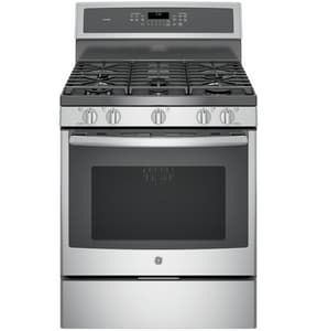 General Electric Appliances Profile™ 20000 BTU Freestanding Gas Range in Stainless Steel GPGB930SEJSS
